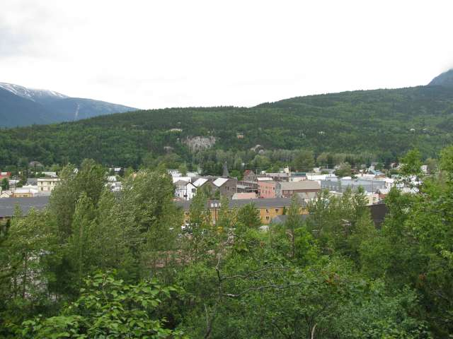 Skagway from the trail